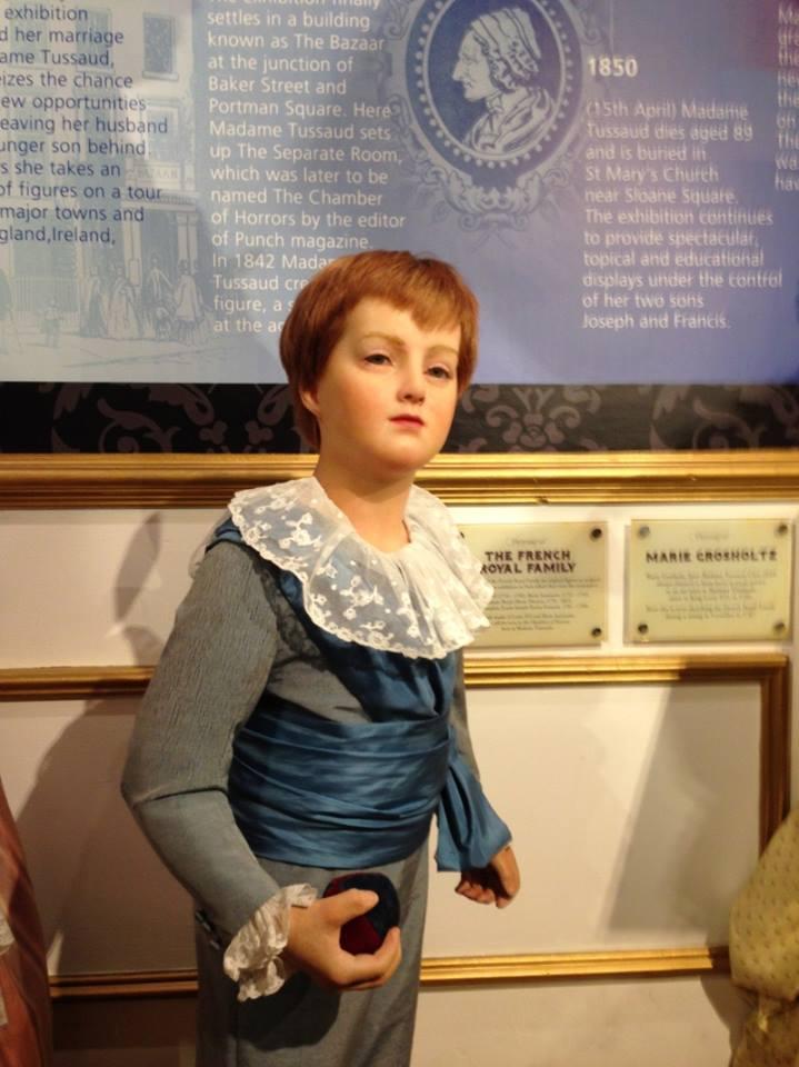 Les enfants de Marie-Antoinette chez Madame Tussaud  10380810