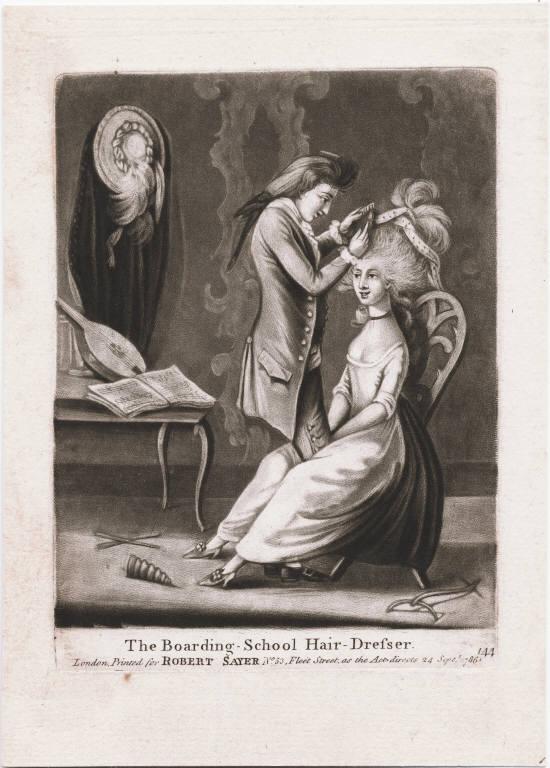 Les coiffures au XVIIIe siècle  - Page 2 178610