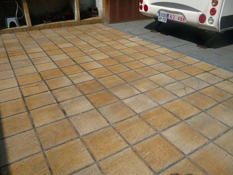 Terrasse et bandes de circulation P1260610
