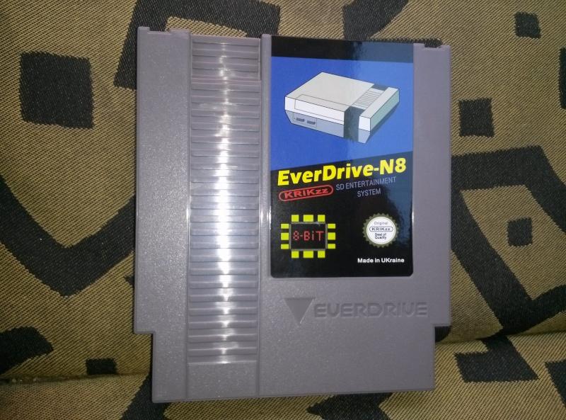 [VDS] Everdrive N8 pour nintendo nes avec boitier Cam00010