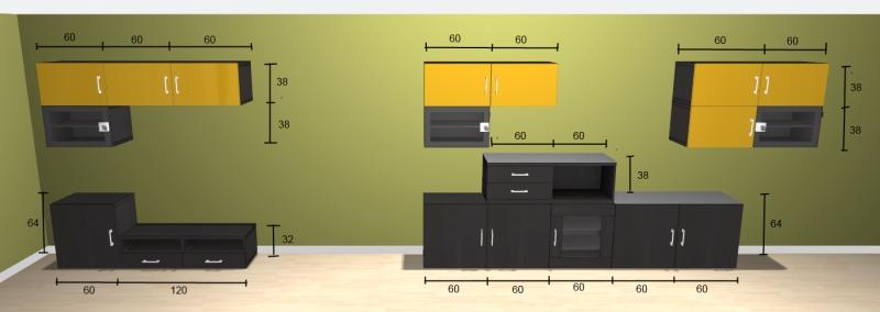 Conseil couleur des murs pour salon Meuble10