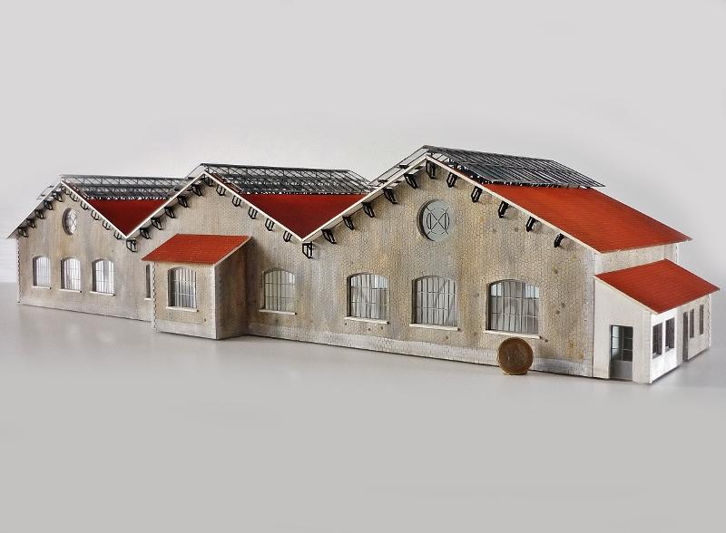[Architecture & Passion] Gare de Landeyrat au 1/87ème 87455810