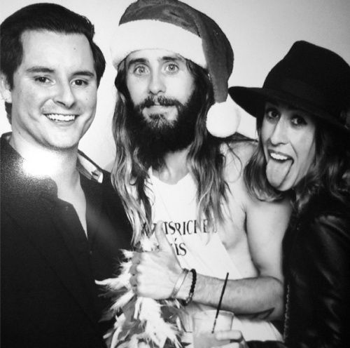Holiday Party at Jared Leto's top secret compound @ By ronysphotobooth Tumblr16