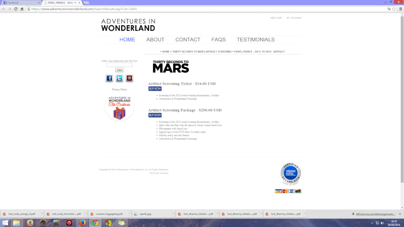 TOURNEE FRANCAISE 2014 DE 30 SECONDS TO MARS - Page 7 Captur10