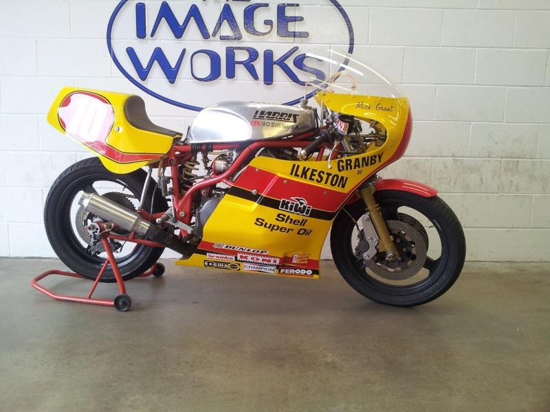 HARRIS F1 SUZUKI  (1980 ?...Mick GRANT ? )  for sale  10662010