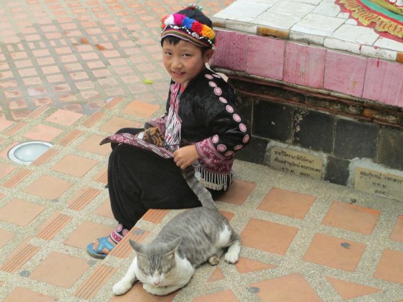 Thaïlande.....beau souvenir Enfant10