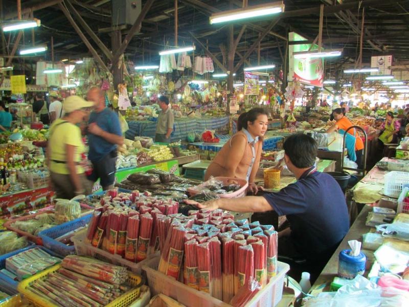 Thaïlande.....beau souvenir Marchy10