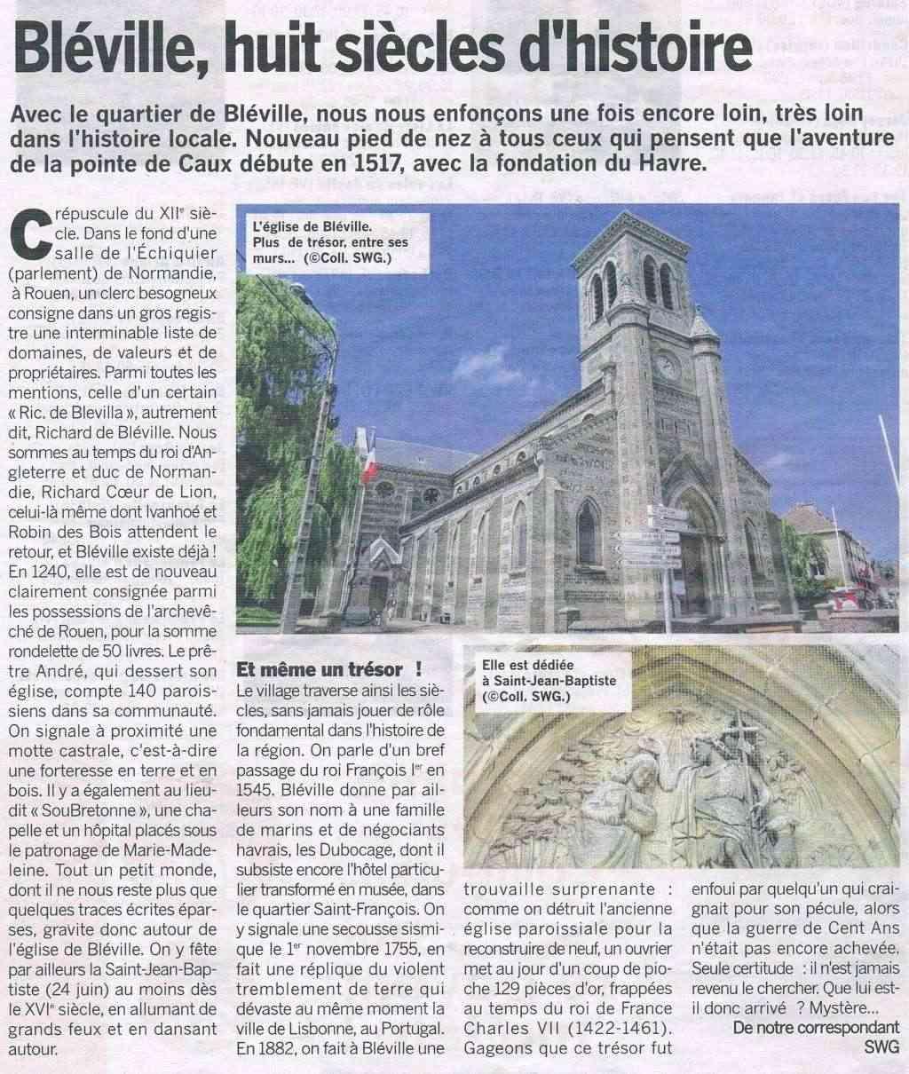 Abbé - Histoire des communes - Le Havre-Bléville 2014-015