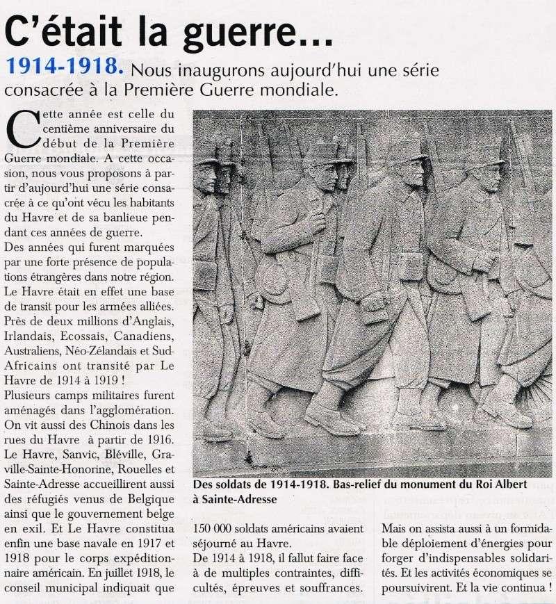 Articles consacrés à la Première Guerre mondiale 2014-022
