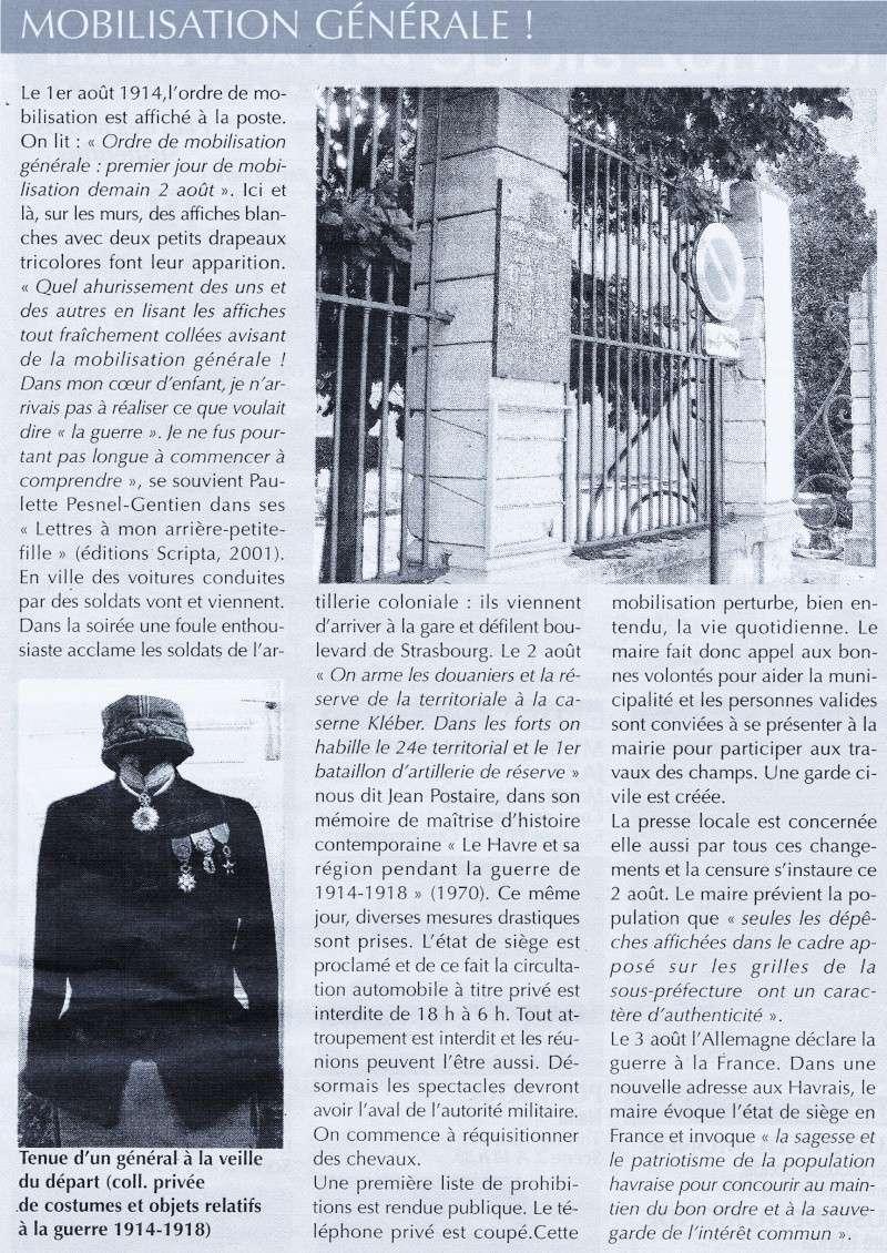 Articles consacrés à la Première Guerre mondiale 2014-026