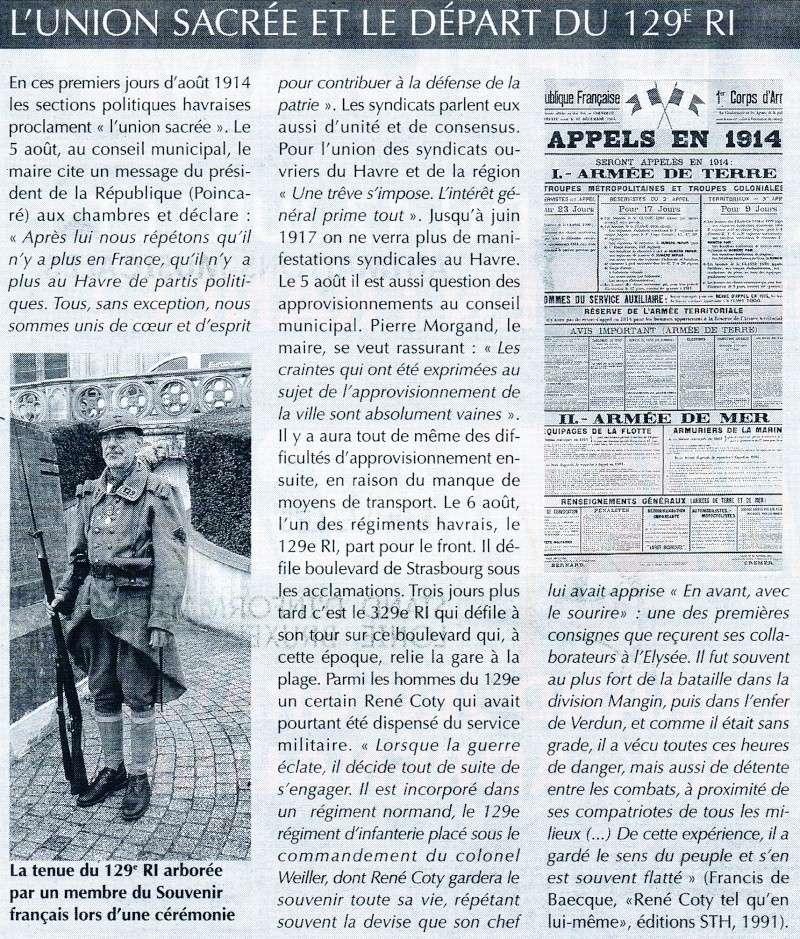 Articles consacrés à la Première Guerre mondiale 2014-027