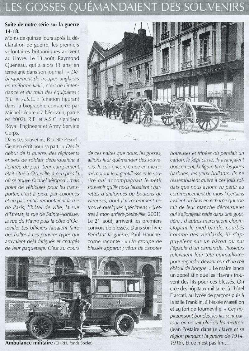 Articles consacrés à la Première Guerre mondiale 2014-028