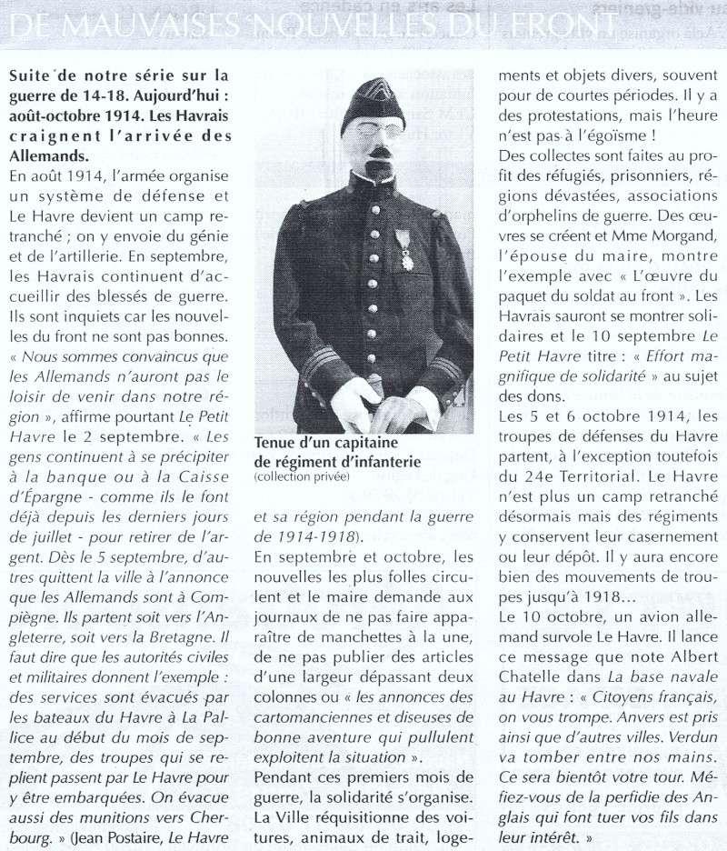 Articles consacrés à la Première Guerre mondiale 2014-029