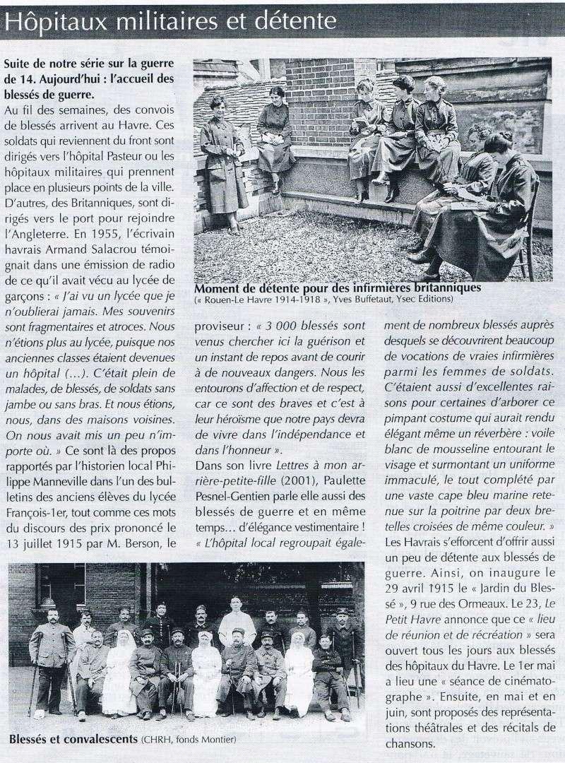 Articles consacrés à la Première Guerre mondiale 2014-033