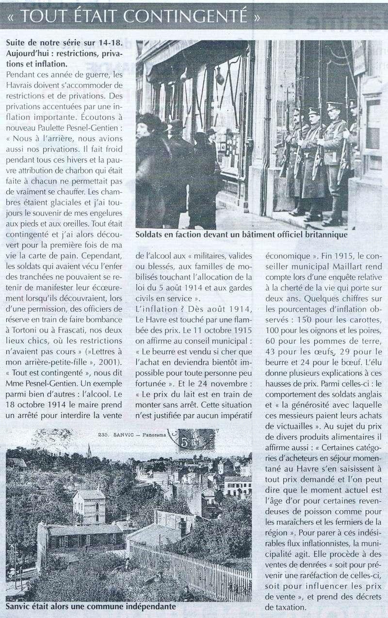 Articles consacrés à la Première Guerre mondiale 2014-035