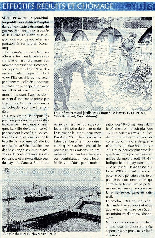 Articles consacrés à la Première Guerre mondiale 2014-058
