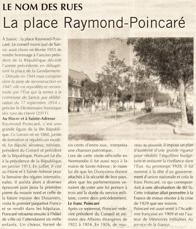SANVIC - Sanvic - Place Raymond Poincaré 2014-064