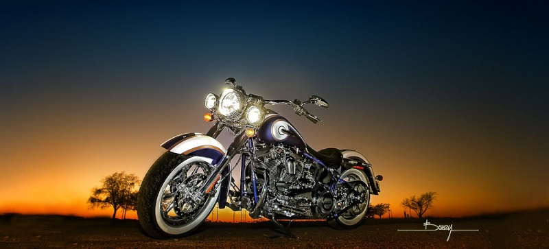 CVO Softail Deluxe 2014 Candy Cobalt: the Blue Diamond - Page 4 Cvosof10