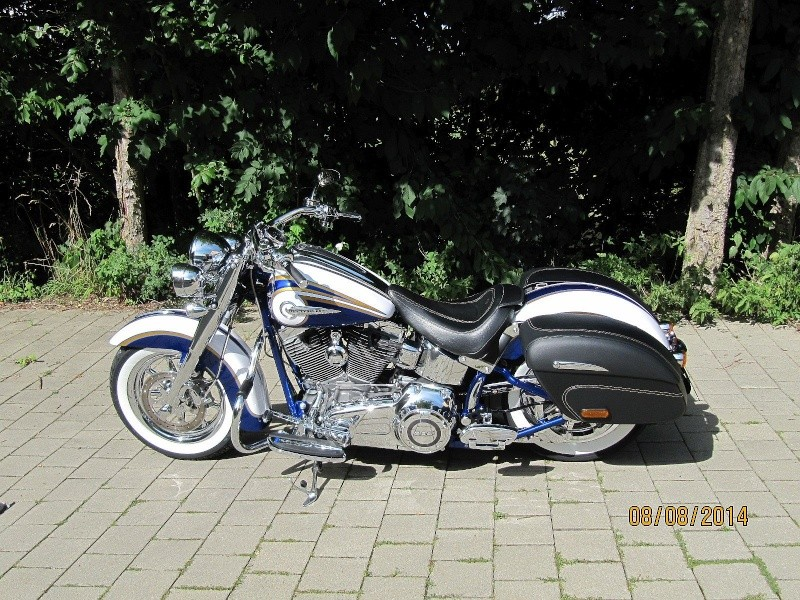CVO Softail Deluxe 2014 Candy Cobalt: the Blue Diamond - Page 4 Img_2010