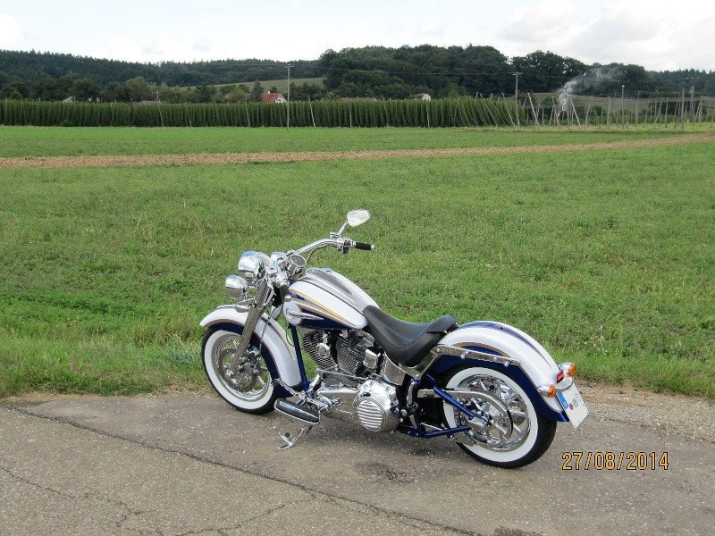 CVO Softail Deluxe 2014 Candy Cobalt: the Blue Diamond - Page 7 Img_2028