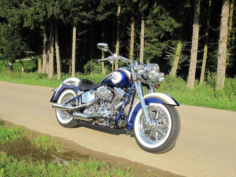 CVO Softail Deluxe 2014 Candy Cobalt: the Blue Diamond - Page 8 Img_2216