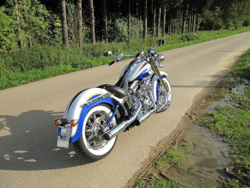 CVO Softail Deluxe 2014 Candy Cobalt: the Blue Diamond - Page 8 Img_2218