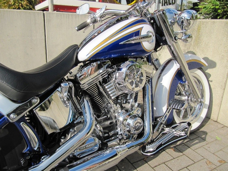 CVO Softail Deluxe 2014 Candy Cobalt: the Blue Diamond - Page 8 Img_2221