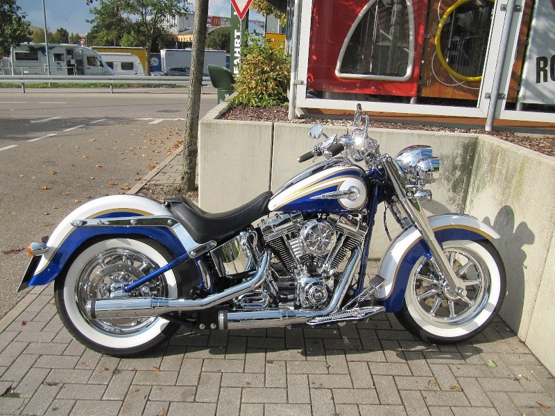 CVO Softail Deluxe 2014 Candy Cobalt: the Blue Diamond - Page 8 Img_2231