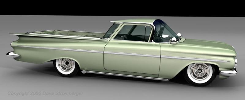 restauration Chevy EL camino 59  -1959210