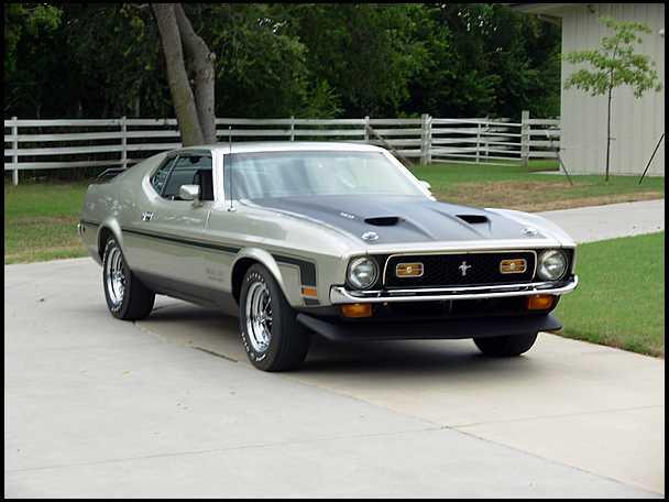 Restauration Mustang Mach 1 1971 terminée Ch101011