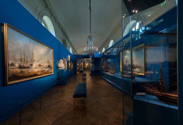 Maquettes de la Marine impériale, Grand Trianon, juin 2014 Bq01rn10