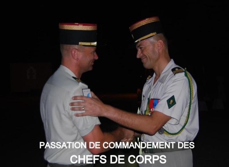 LA  13  DBLE  change de CHEF, legion etrangere, juillet 2010 1310