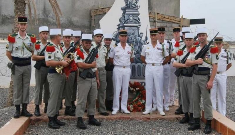 LA  13  DBLE  change de CHEF, legion etrangere, juillet 2010 13110