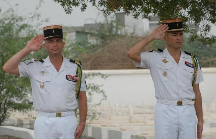 LA  13  DBLE  change de CHEF, legion etrangere, juillet 2010 13210