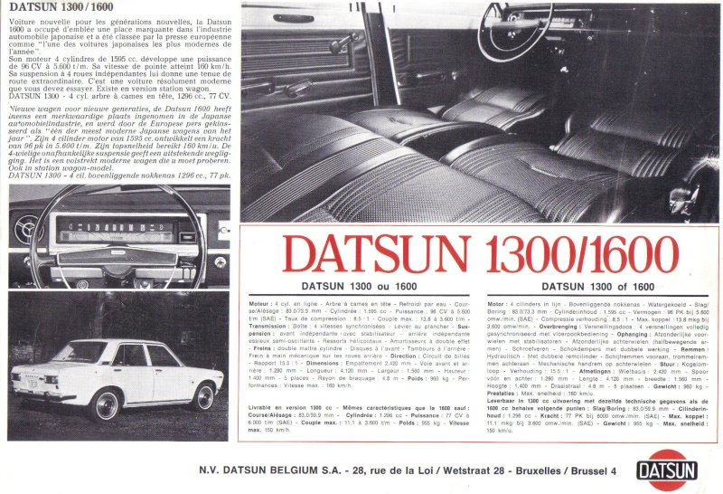 TOPIC OFFICIEL DATSUN 510... Voiture mythique! - Page 2 510-1318