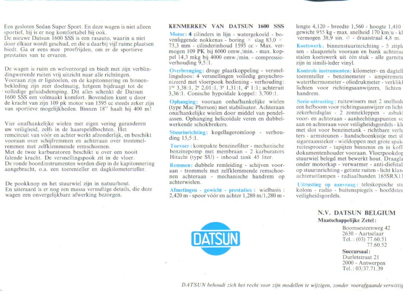 TOPIC OFFICIEL DATSUN 510... Voiture mythique! - Page 2 510_do13