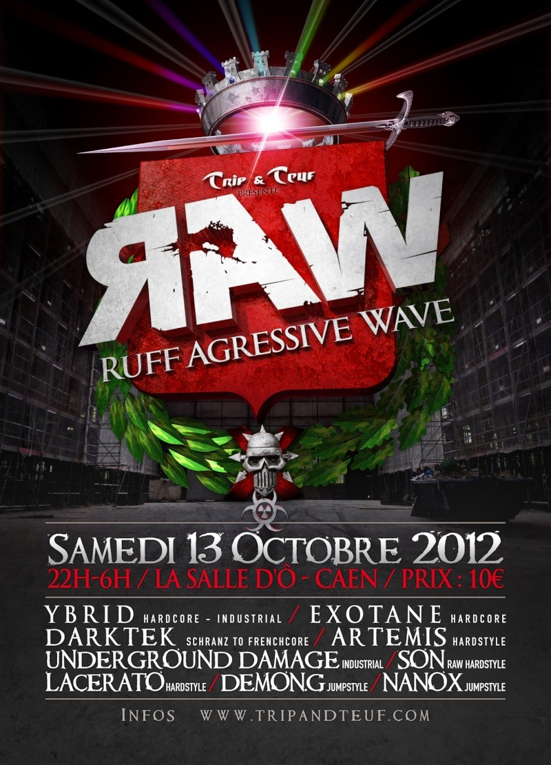 [ Ruff Agressive Wave (R.A.W) - Samedi 13 Octobre 2012 - La Salle d'Ô - Caen ] Flyer-12