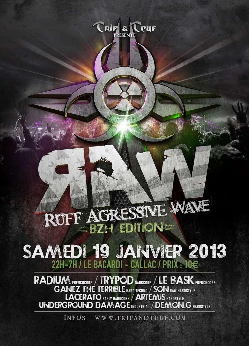 [ Ruff Agressive Wave (R.A.W) - BZH Edition - Samedi 19 Janvier 2013 - Le Bacardi - Callac ] Flyer-15