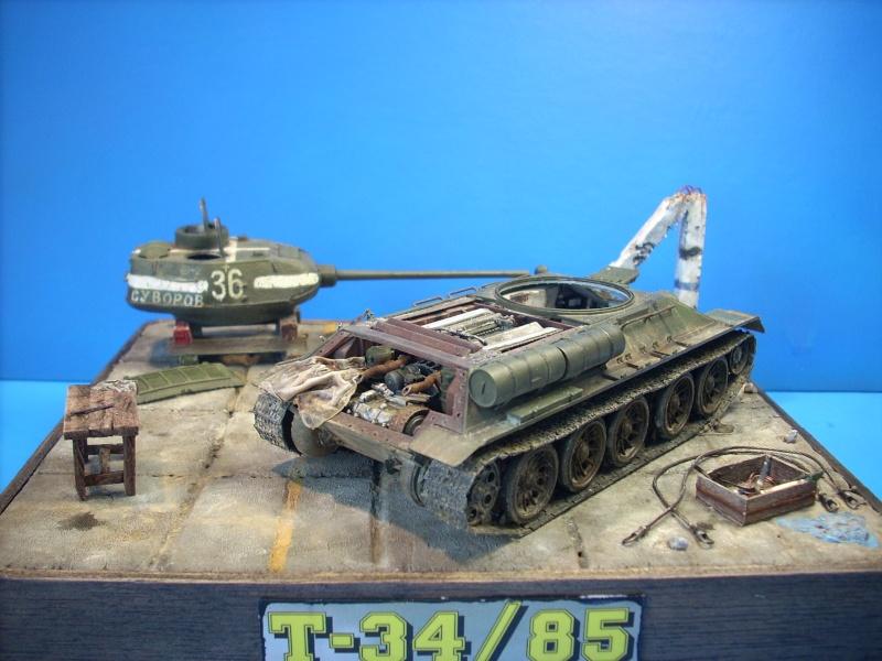 T 34/85 Hobby Boss 1/48eme - Page 2 Dscn1510