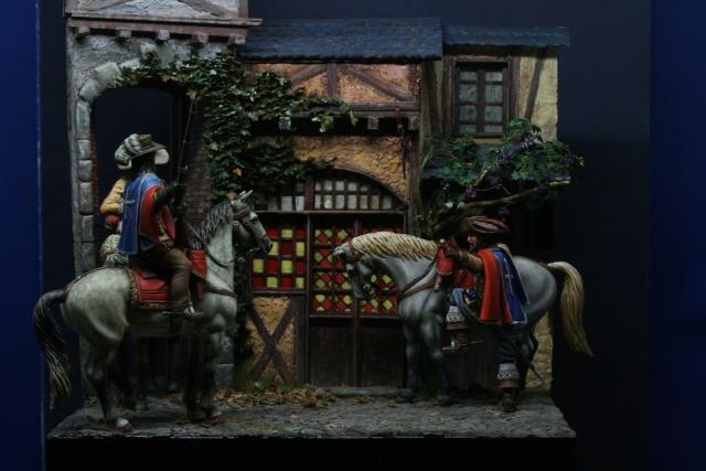 Les Mousquetaires: et de quatre, terminés......sur la place de l'auberge - Page 4 Img_0319