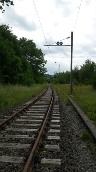 Zone désertée entre la gare de Wiltz et le RAVeL allant à Bastogne 20140610