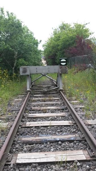 Zone désertée entre la gare de Wiltz et le RAVeL allant à Bastogne 20140615