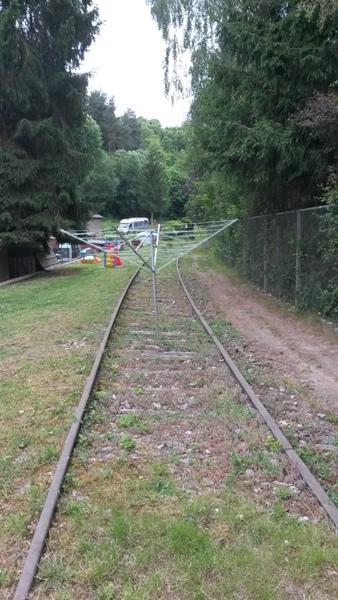 Zone désertée entre la gare de Wiltz et le RAVeL allant à Bastogne 20140617