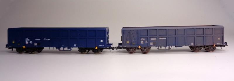 Premier projet aérographe: Wagon tombereau 4 essieux des CFL Dsc01513
