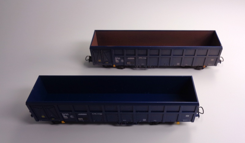 Premier projet aérographe: Wagon tombereau 4 essieux des CFL Dsc01514