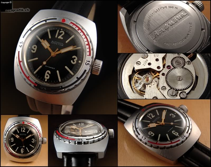 Projets horlogers (externes) Vostok12