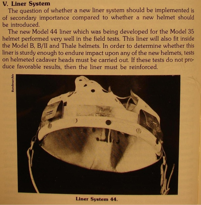 Reconstitution d'un casque allemand B-II 76999510