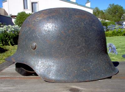 Reconstitution d'un casque allemand B-II Im000311