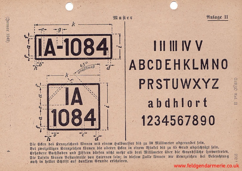Les plaques d'immatriculations allemands pendant la guerre Wh-pla10