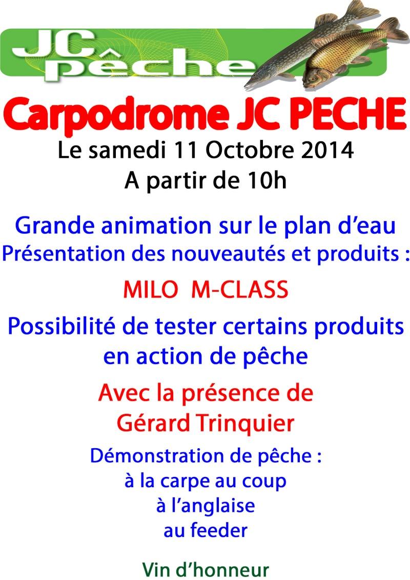 Animation Carpodrome JC PECHE le 11/10/14!!! Affich10